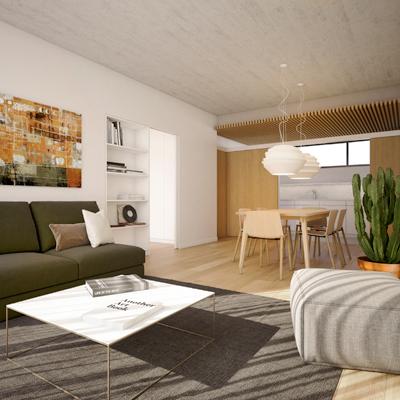 Cartagena 202 -Apartamento tipo B - 1 dormitorio