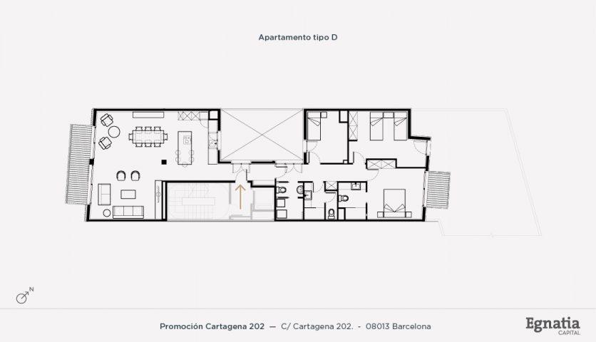 Cartagena 202 apartamento tipo D